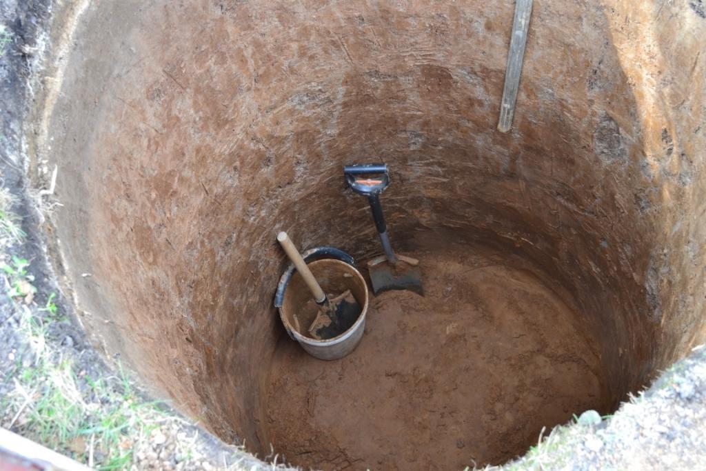Как выкопать колодец своими руками видео фото