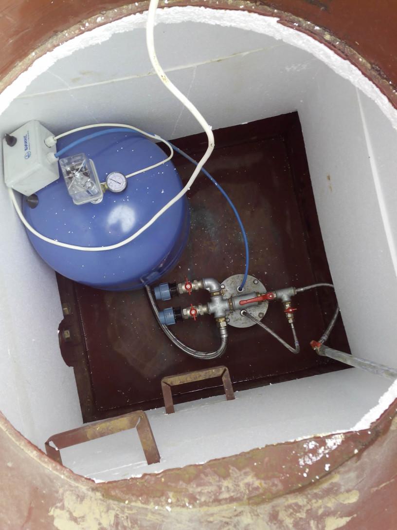 Как сделать кессон для насосной станции