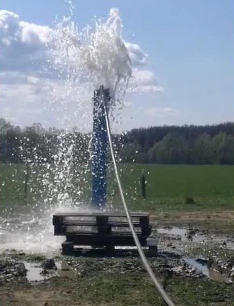 Промывка скважин