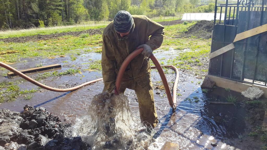 Как промыть скважину от глины