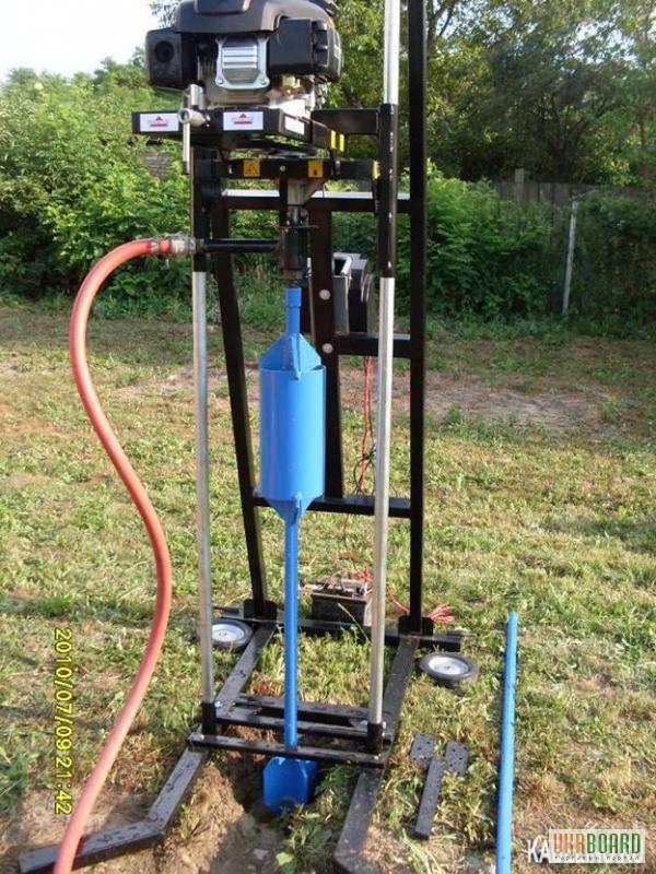 Буровое оборудование для бурения скважин на воду своими руками 589