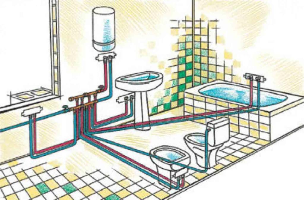 Сантехника для ванной комнаты и туалета своими руками 48