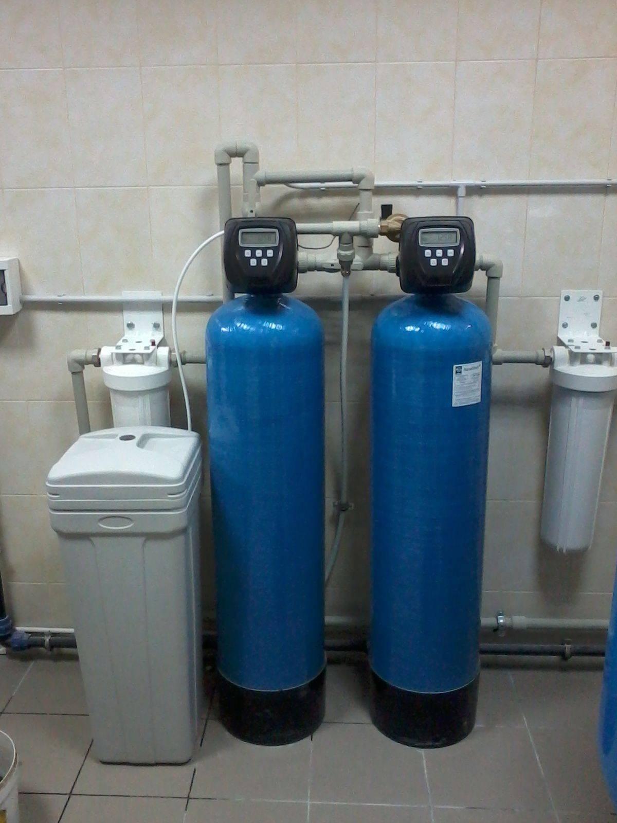 Смягчитель воды для дома своими руками