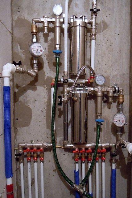 Разводка водопровода в новостройке своими руками