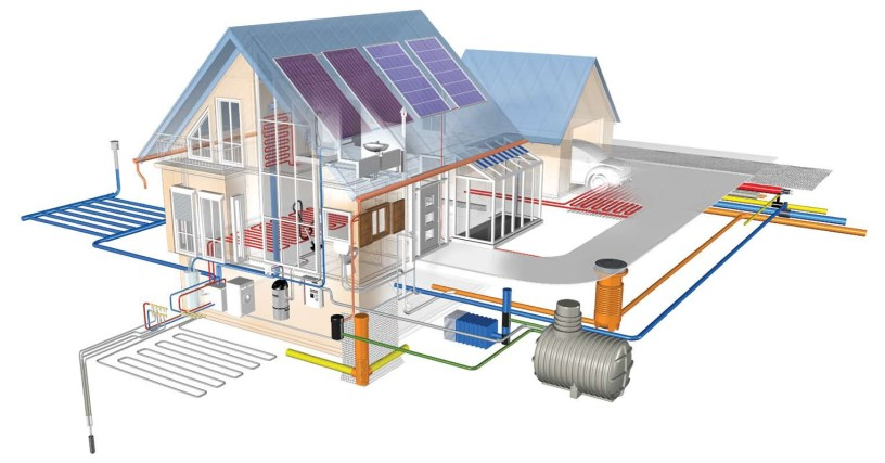Проектирование система водоснабжения и канализации