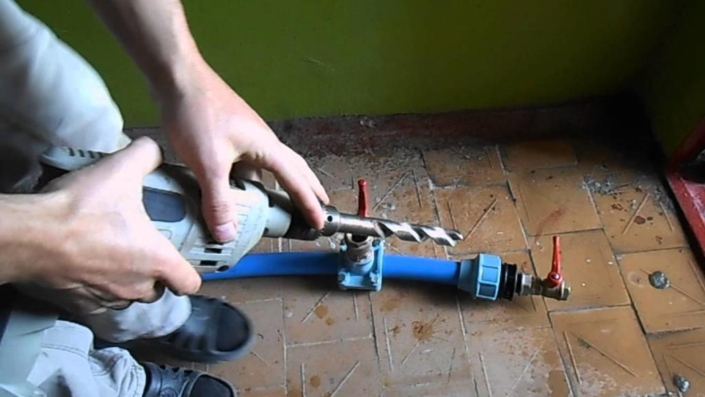 меньше врезка в полипропиленовую трубу поможет Как пользоваться